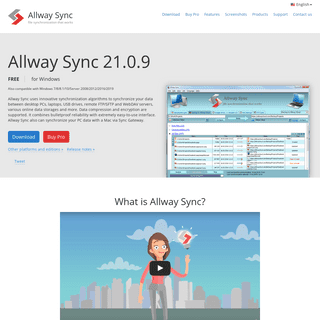 Free File Synchronization, Backup, Data Replication, PC Sync Software, Freeware, File Sync, Data Synchronization Software - Allw