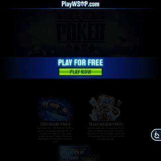 World Series of Poker - Online Poker