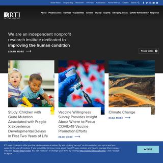 RTI International - Research Institute