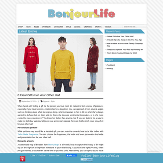 Bonjourlife - Men`s Gear, Lifestyle and Trends