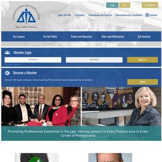 Pennsylvania Bar Association - Home