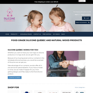 Silicone Quebec- #1 DIY Silicone Beads & Wooden Teethers in Canada.