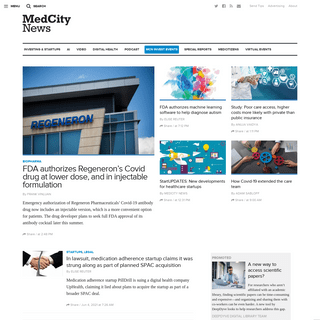 MedCity News - Healthcare technology news, life science current events