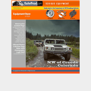 Flash Off-Road All About Hummers