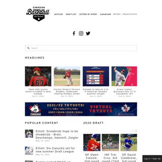 Canadian Baseball Network
