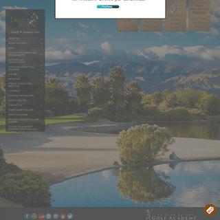 Palm Desert, California Golf Courses - Desert Willow Golf Resort