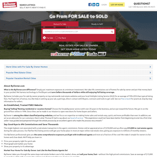 Largest For Sale By Owner Listing Site to Buy or Sell Homes