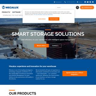 Mecalux International - Warehouse Storage Solutions