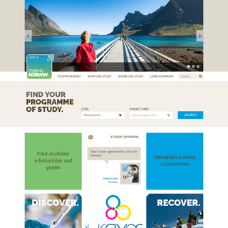 StudyinNorway - Home - Study in Norway