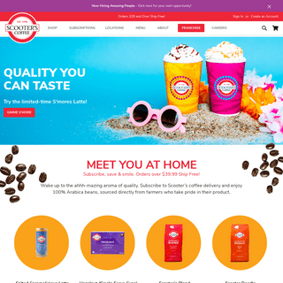 Scooter`s Coffee - Be Amazing