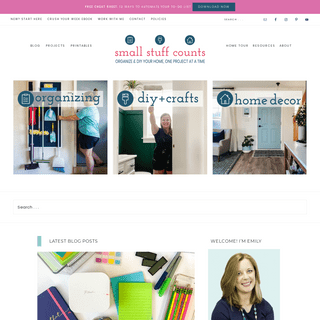Small Stuff Counts - Organize & DIY your home, one small project at a time