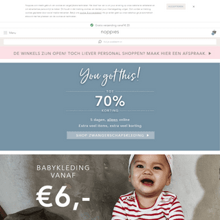 Noppies Online Shop - Zwangerschapskleding - Babykleding - Kinderkleding
